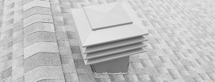 Aérateur Maximum 301 sur une toiture