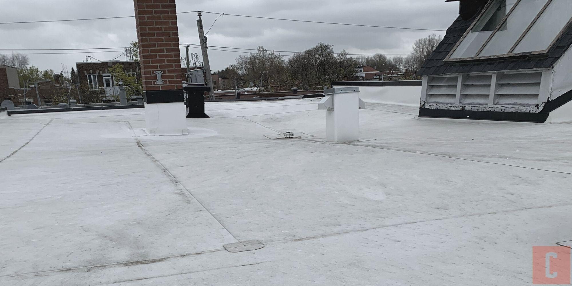 Pontage de toit plat conforme