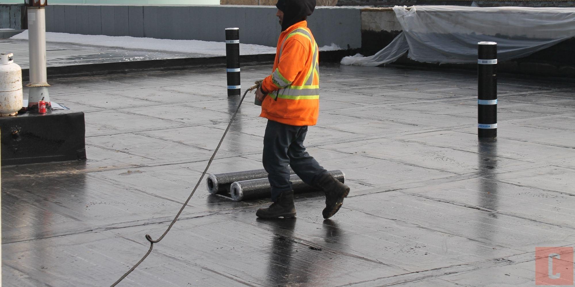 Membrane de sous-couche pour toit plat