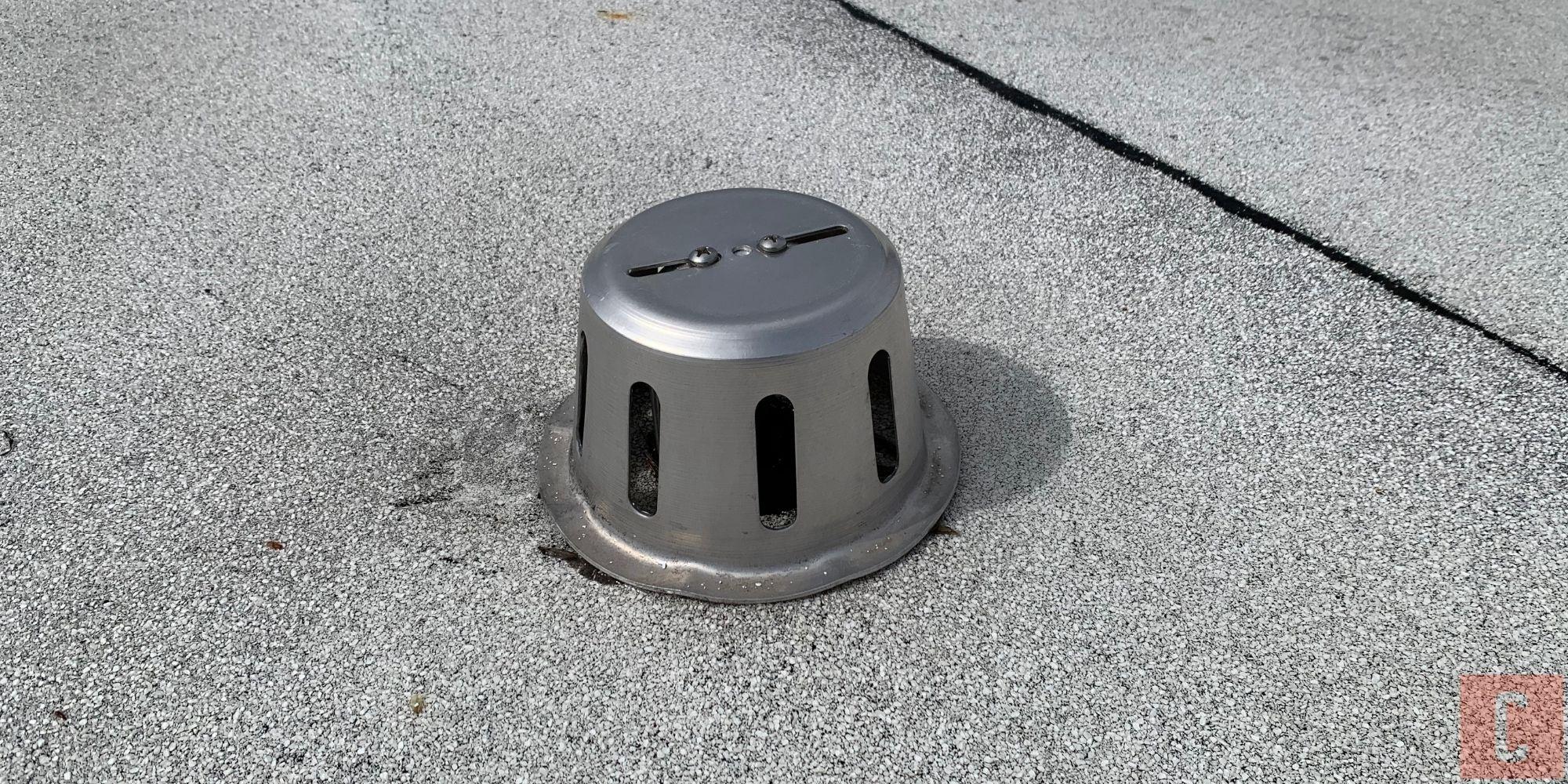 Inspection d'un toit plat