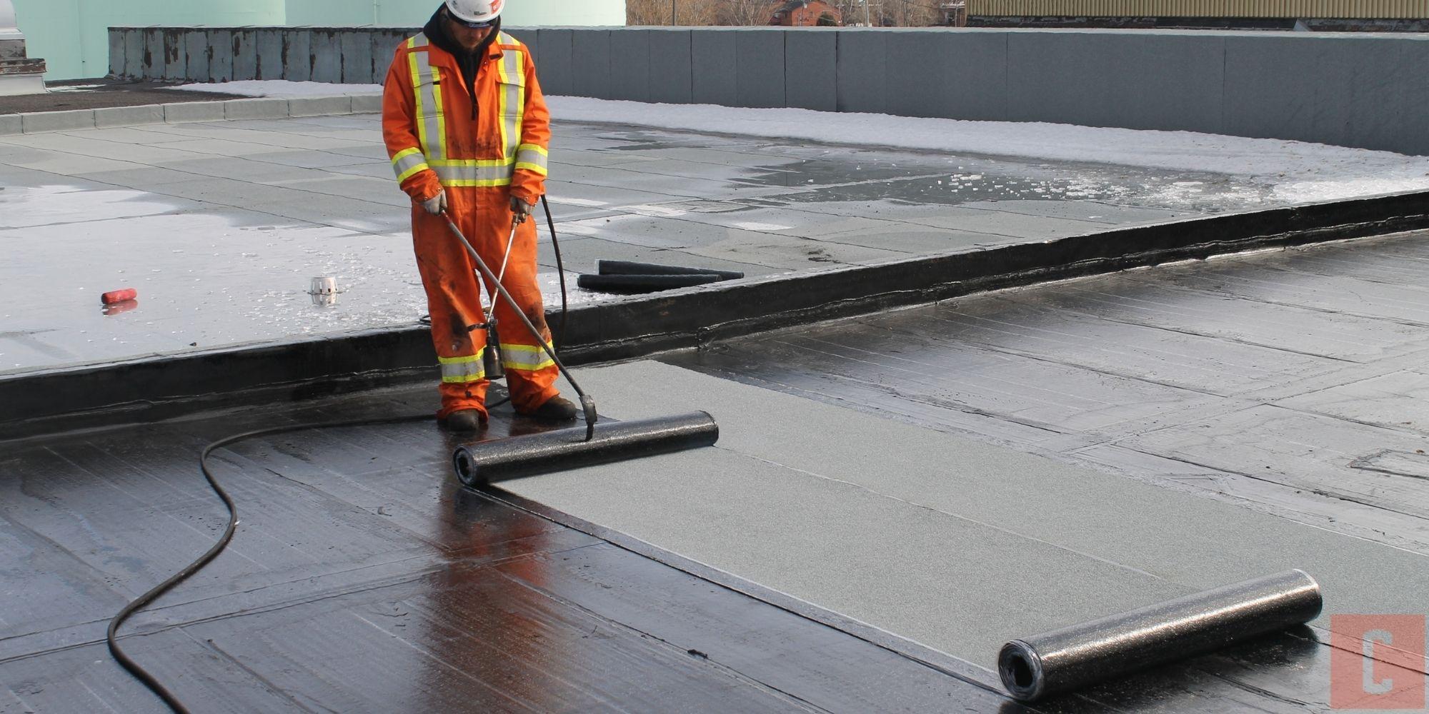 Membrane de finition pour toit plat
