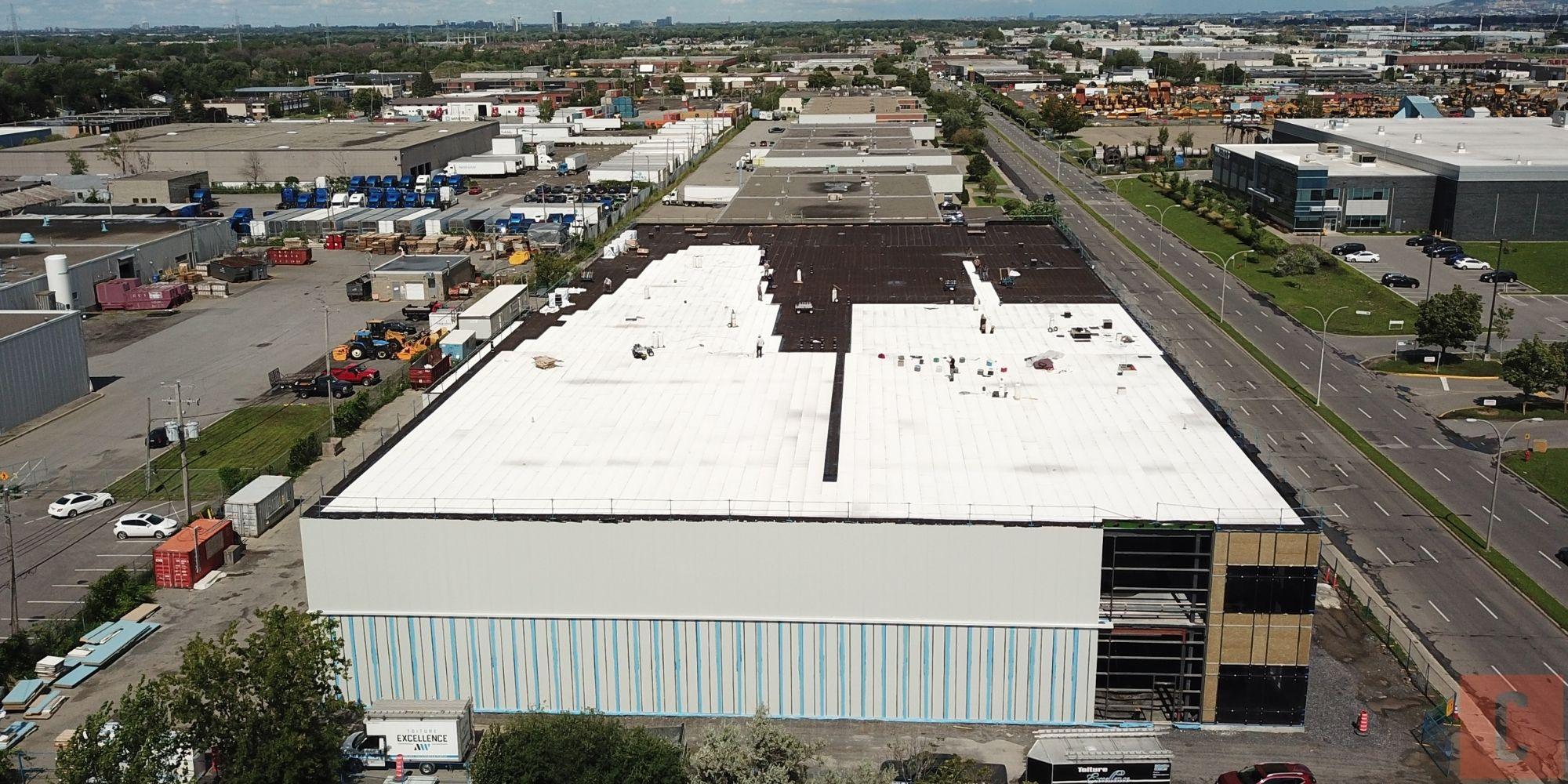 Le prix d'un toit plat