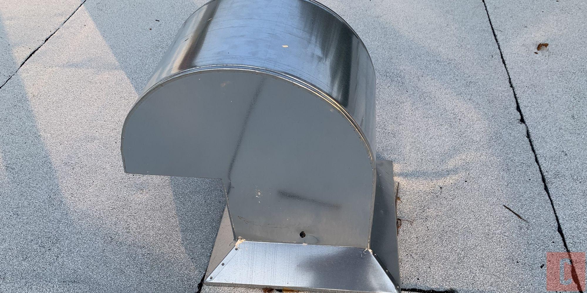 Aérateur de toit plat