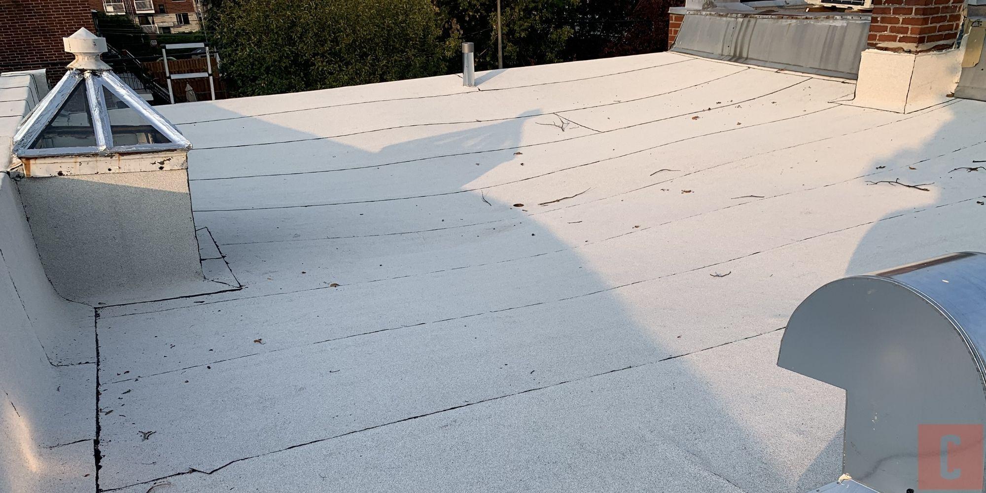 Quoi inspecter sur un toit plat